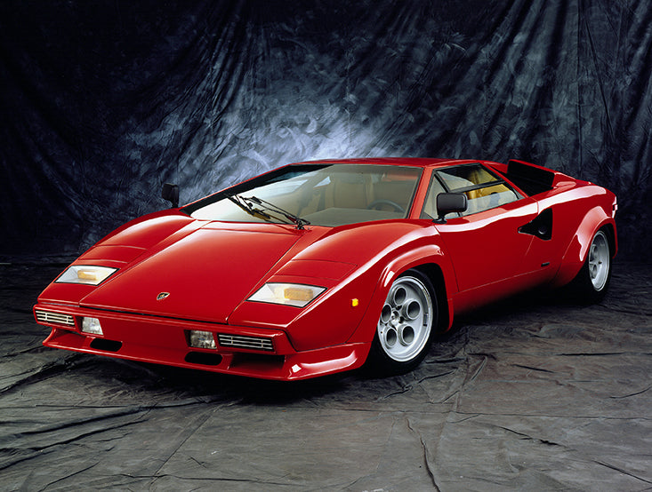 VIDEO - Driving a 1979 Lamborghini Countach LP400S