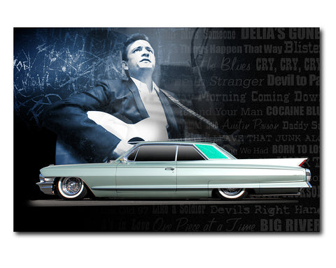 Johnny Cash Cadillac Coupe De Ville