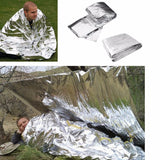 Cold-proof First Aid Emergency Blanket Survival/Rescue - Outdoor Life-saving Reusable Sleeping Bag Hot!