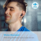 Anker SoundBuds - Slim Wireless Headphones, Lightweight Bluetooth 4.1 Earbuds IPX4 (Water Resistant Sport Headset with Mic)