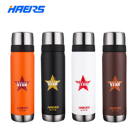 Brand Haers 500ml Stainless Steel Insulated 6-12 Hours Cool Urbanstar Thermal for Coffee Tea