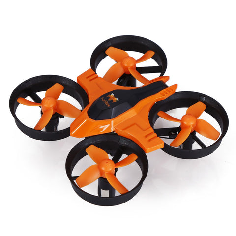 FuriBee F36 Mini UFO Quadcopter Drone 2.4G 4CH 6-Axis Headless Mode Remote Control Toys  - RC Helicopter RTF Mode2