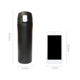 Hoomall Stainless Steel Thermal Bottle Insulated Coffee Holder - Vacuum Flasks Drinkware - 350/500ML