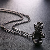 Mini Boxing Glove Necklace - Boxing Chain Necklace - (McGregor Vs Mayweather)