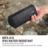 MIFA Portable Bluetooth speaker - Wireless Waterproof Outdoor Speaker (Loudspeaker Sound System 10W Stereo Surround Sound)