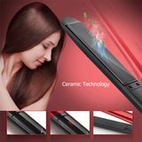 New Professional Hair Straightener LED Display Flat Iron Straightening Irons Planchas Straight Hairstyle Styling Tools
