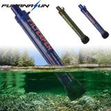 Outdoor Water Filter Purifier with Extension Tube  Portable Hiking Drinking Water Cleaner Emergency Camping Survival Kit