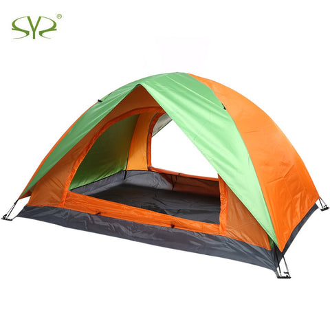 Quick Automatic Opening 3 - 4 Person Tent Water Resistant Camping Tent Field Tabernacle Sleeping Equipment For Outdoor Exercise