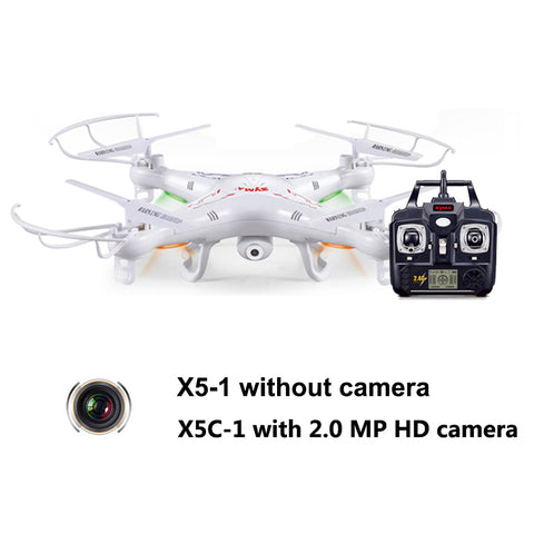 Syma X5C Quadcopter Drone With Camera or Syma X5 without camera