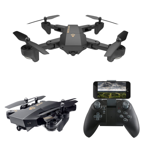 VISUO XS809HW XS809W Mini Drone with Camera Foldable Quadcopter Drones With Camera HD WiFi FPV Dron Altitude Hold RC Helicopter