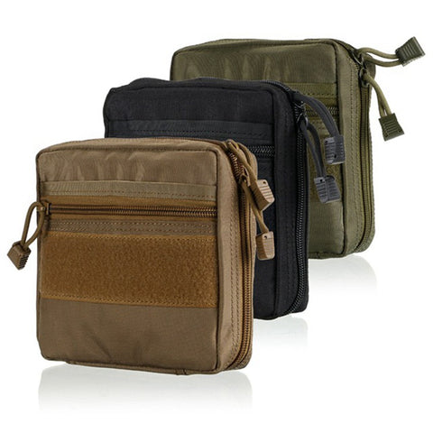 Military EMT First Aid Kit Survival Gear Bag - Waterproof MOLLE Tactical Multi Medical or Utility Tool Belt EDC Pouch