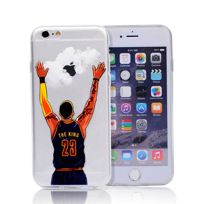 LeBron James, James Harden, Stephen Curry, Kobe Bryant - Hard Case For Iphone 7 7+ 5 5s se 6 6s
