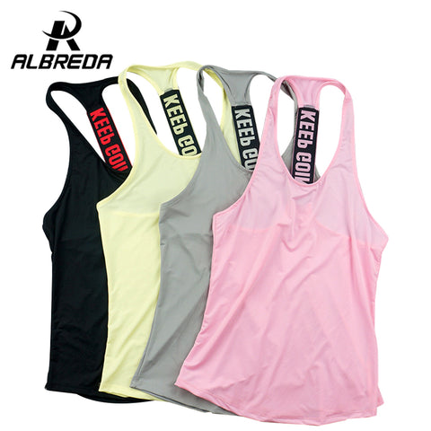 Women Sports Top / Vest - Professional Fitness Training: Running Quick-Drying Tank Top