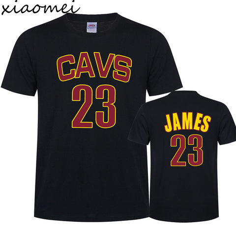 2017 Lebron James  Men's T-Shirt New Summer Cotton Plus Print Casual Brand Tees And Tops