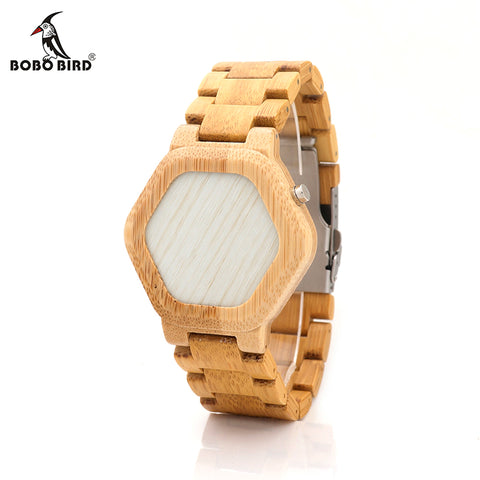 BOBO BIRD V-E03 Men's LED Digital Bamboo Watch (Night Vision LED Watch)