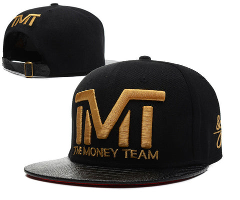 The Money Team Snapback Adjustable Baseball Cap Hip Hop bboy Hat Black Hats