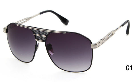 Classic Armada Sunglasses Grandmaster Flat Top Sun Glasses Shades OM396 (Mayweather Style Type)