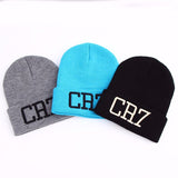 Cristiano Ronaldo CR7 Beanies Knit Winter Caps - Skullies Bonnet Winter Hat / Beanie