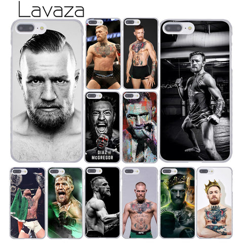 Conor Mcgregor Hard Case for iPhone 8, 7, 6, 6S, Plus, 5, 5S, SE, 5C, 4, 4S