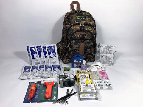 3 Day Emergency Survival Kit for 2 People - Disaster / Earth Quake / WW3 Bug out Bag