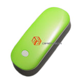 Green Color Pocket Heater Hand Warmer with Power Bank Function 3000mAh
