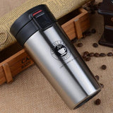 Professional grade 304 18/8 stainless steel thermo cup travel coffee mug thermos vacuum Thermal Mug flask cups and mugs tumbler