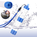 Portable Water Emergency Camping Hiking Pressure Outdoor Purifier Drinking Survival Kit Water Filter