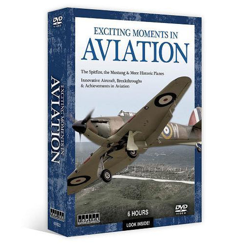 Exciting Moments in Aviation (4 DVD pack)