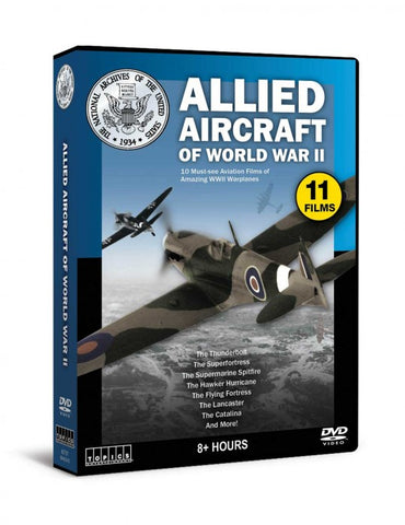 Allied Aircraft of World War II (3 DVD's)