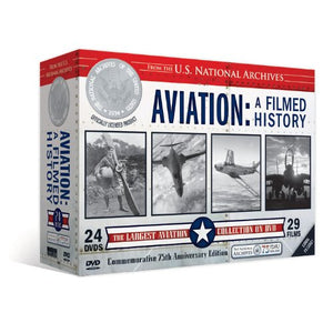 Aviation - A Filmed History  (24 DVD's) Set