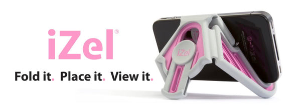 IZel Pink and Grey