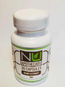 Hemp Extract Capsules CBD 5 mg, 10 mg - Pet