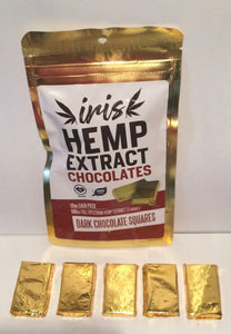 Hemp Chocolate Dark Organic 100 MG