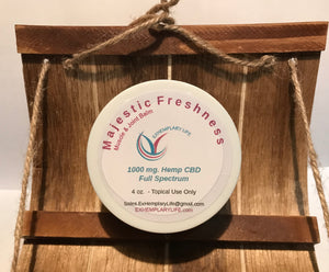 Hemp Majestic Freshness Muscle & Joint Balm - 500 mg Full Spectrum CBD