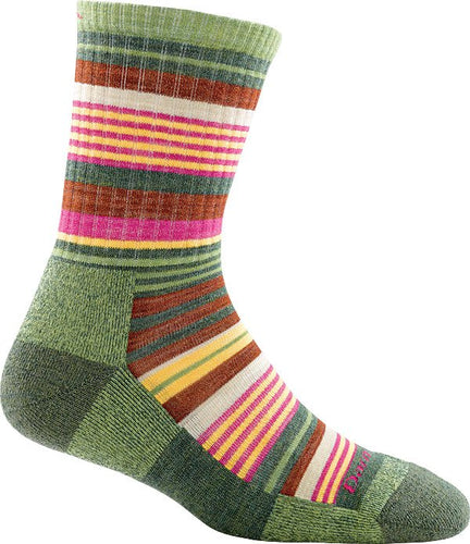 SIERRA STRIPE MICRO CREW LIGHT CUSHION WOMENS