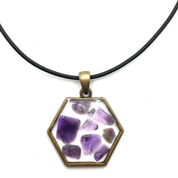 Crown Chakra Boho Necklace