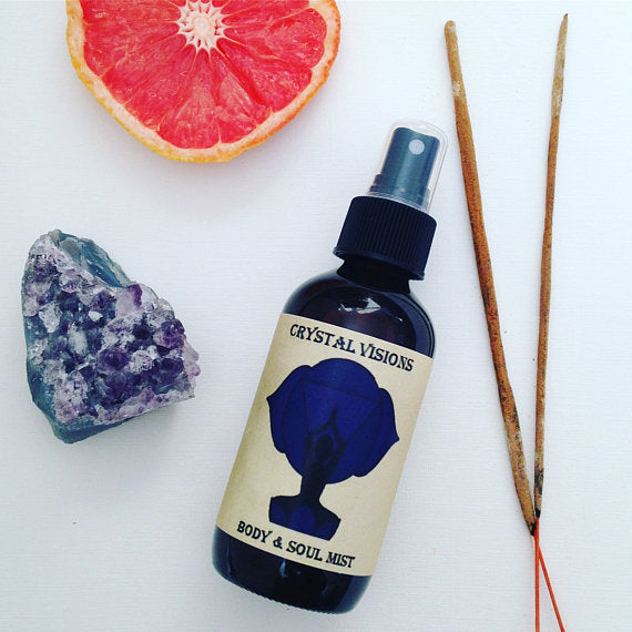 Crystal Visions 3rd Eye Chakra Body and Soul Mist