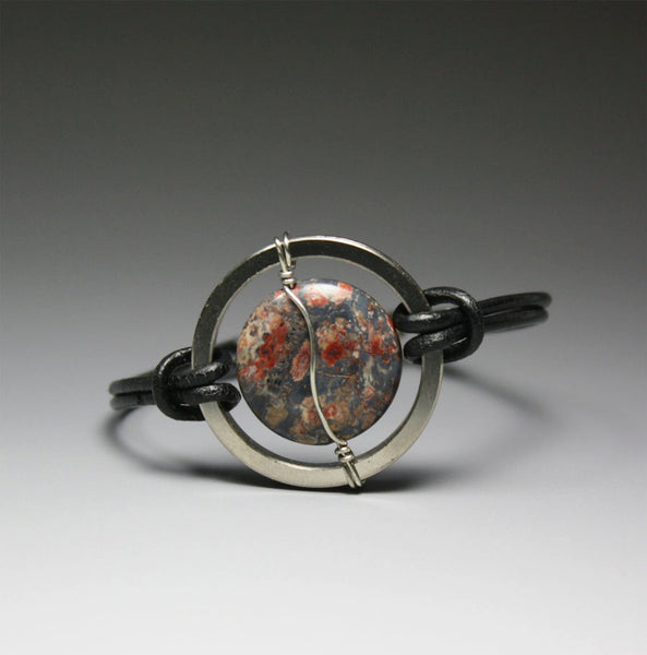 Divine Timing Watch - Ocean Jasper