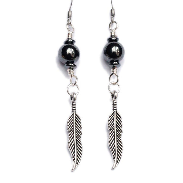 Grounded Wings Earrings