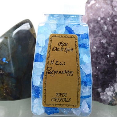 New Beginnings Bath Crystals