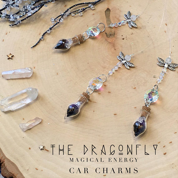 Dragon Fly Car Charm