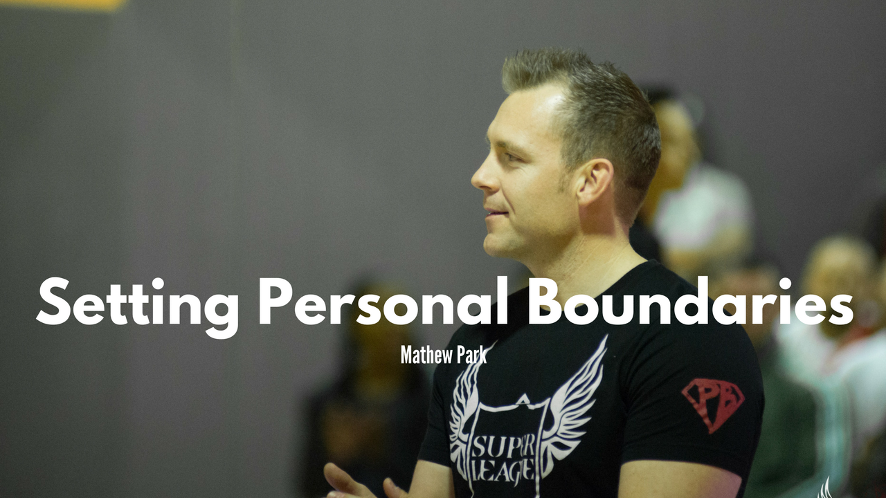 Setting Personal Boundaries and Recharging Our Batteries