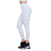 WHITE DIAMOND CAMOUFLAGE HIGH WAIST LEGGINGS