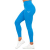 Feather Blue High Waist Leggings