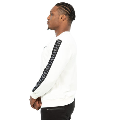 MEN COMMANDER LONG SLEEVE CREW NECK WHITE