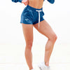 Blue Lounge Shorts