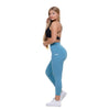 Blue Heart Booty High Waist Leggings