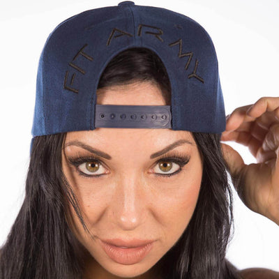 Fit Army SNAPBACK FA Snapback - Navy Blue hat