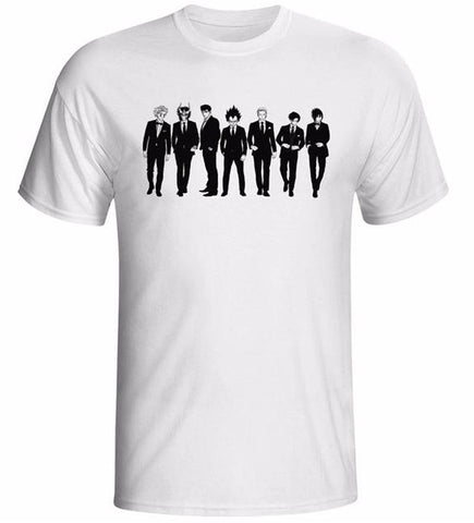 "Anime Allstars ""Black Tie Second Team"" T-Shirt - Merch Vault"