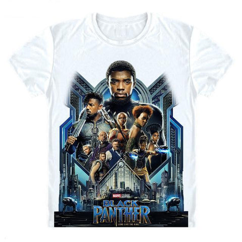 Black Panther 'Billboard' T-Shirt - Merch Vault